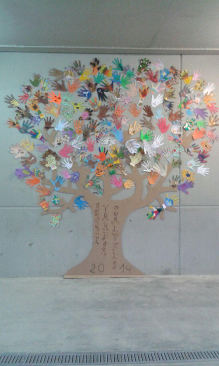 L'arbre de la tardor del Saltells