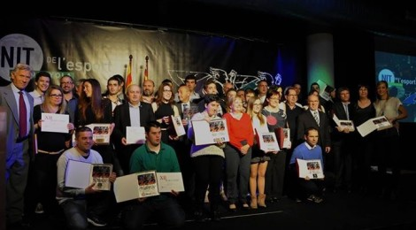 El Saltells guanya el Premi a la promoció de l'esport escolar