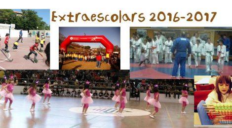 Ja et pots inscriure a les Extraescolars del curs 2016-2017!