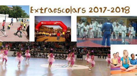 Inscripcions Extraescolars curs 2017-2018